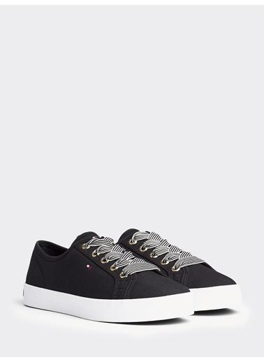 Tommy Hilfiger Kadın Essential Nautical Sne Sneakers FW0FW04848 Siyah